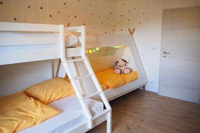 Hühnerstall Kinderbett Fewo